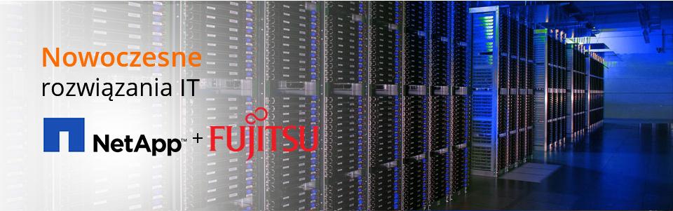 Nowoczesne rozwiązania IT. NetApp + Fujitsu