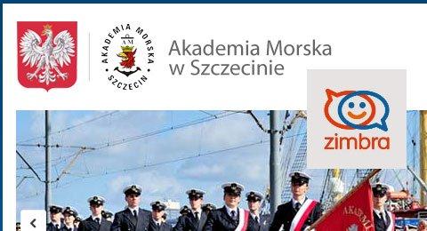Wdrożenie Zimbra w Akademii Morskiej