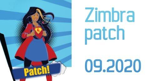 Zimbra Patch 09.2020
