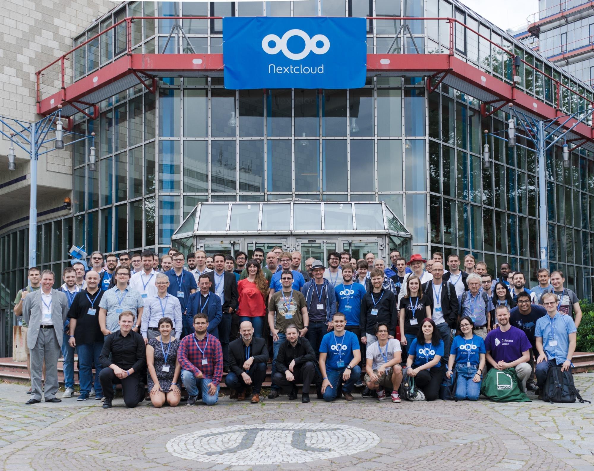 spotkanie w Berlinie na Nextcloud
