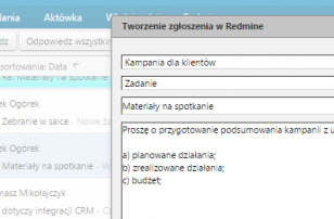 Integracja Redmine i Zimbry