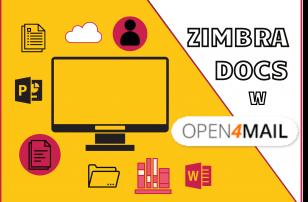 Zimbra Docs na Open4Mail